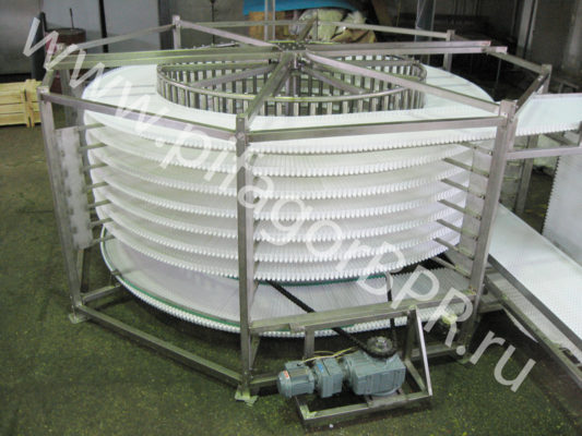 спиральный конвейер СК